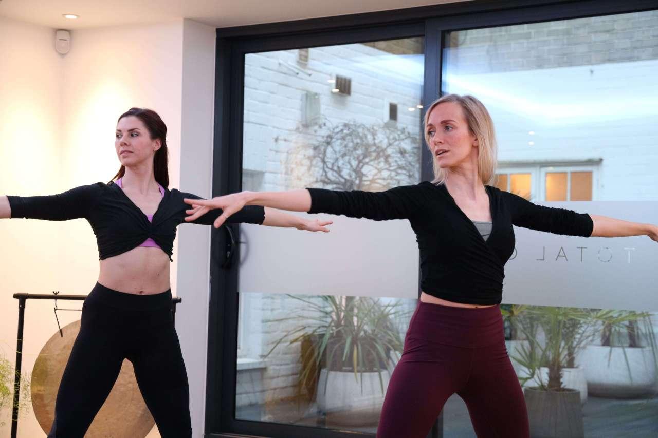 Felicity McDonald Pilates Training Lesson London